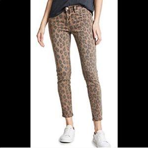 BlankNYC leopard crop skinny, size 26,NWT